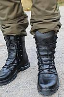Берцы зимние кожаные улучшенные