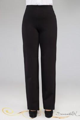 Классические прямые брюки из турецкого трикотажа большого размера 50-62, фото 1
