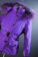Зимняя куртка для девочки на 146 рост.