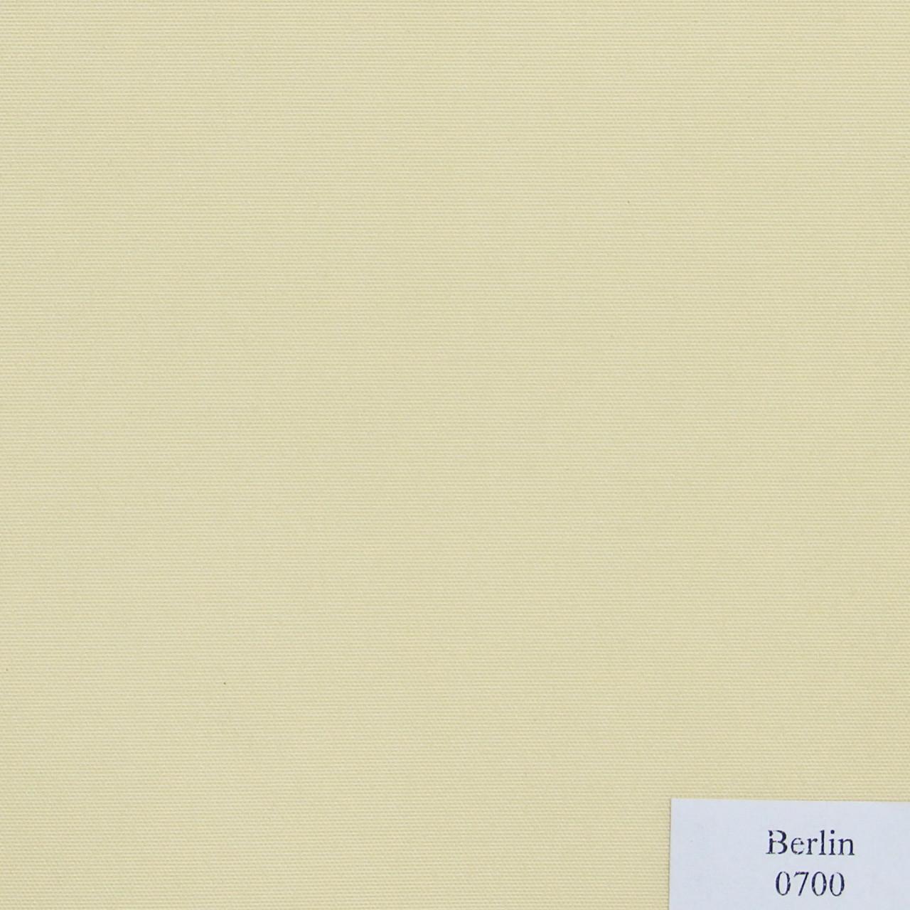 Рулонные шторы Ткань Берлин Слоновая кость 0700