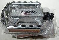 Педали FPD алюминиевые хром, с шипами и отражателями