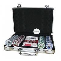 Покерный набор на 200 фишек с номиналом N°200N