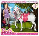 Кукла Барби и Лошадь Прогулка верхом Barbie Doll and Horse DHB68, фото 7