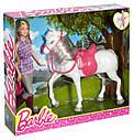 Кукла Барби и Лошадь Прогулка верхом Barbie Doll and Horse DHB68, фото 8