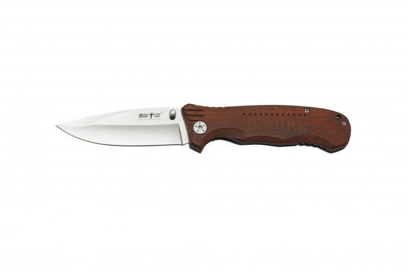 Нож складной ,хорошая сталь,крепкий замок.