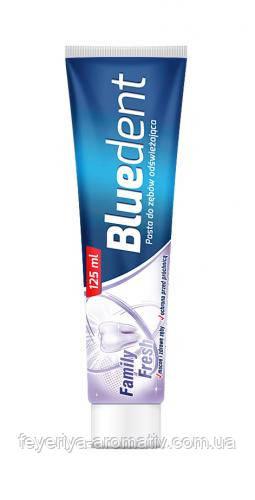 Зубная паста Bluedent Family Fresh 125 мл
