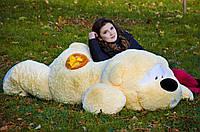 Лежачий мишка Физзи Мун 200 см, Мягкая ирушка, Плюшевый мишка Мягкая игрушка украина, игрушка медведь 2 метра