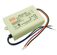 Блок питания 350мА 25Вт 25-70вольт APC-25-350 драйвер тока 350 мА 8099