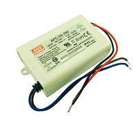 Блок живлення APC-35-700 драйвер струму світлодіодів 700 mА 35 Вт MEAN WELL 4589