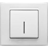 Gunsan Moderna Выключатель с подсветкой белый