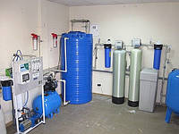 Оборудование для пункта розлива и продажи очищенной питьевой воды 500 л/час