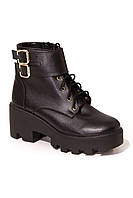 Зимние женские ботинки PAOLO B-301 кож-Z скидка
