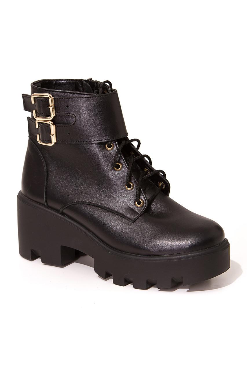 Зимові жіночі черевики PAOLO B-301 шкір-Z знижка
