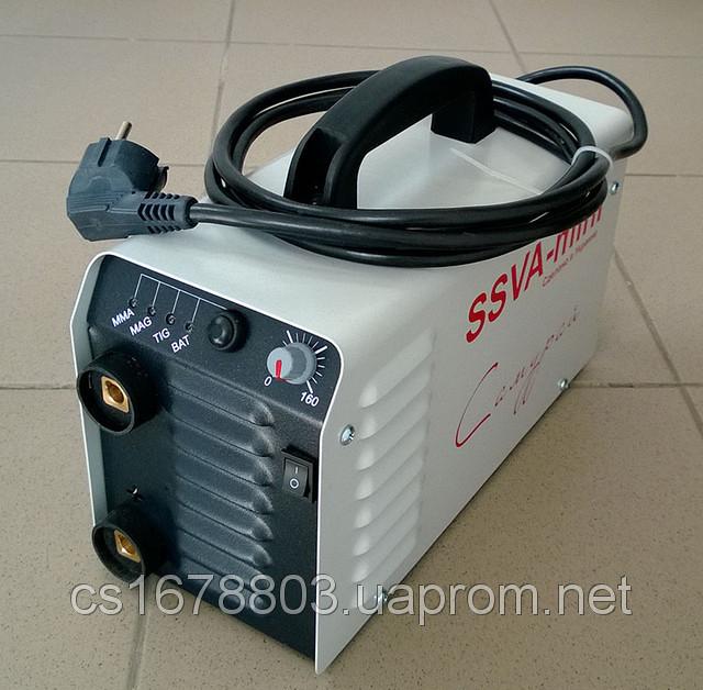 Сварочный инвертор SSVA mini Самурай  - Компания SvarMetall: сварочное, бензо и электро оборудование в Харькове