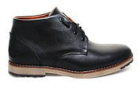 Ботинки зимние мужские кожаные на меху  TOP HOLE   (ТОП ХОЛ)