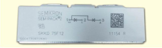 поддельный быстродействующий диодно-диодный модуль SKKD75F12