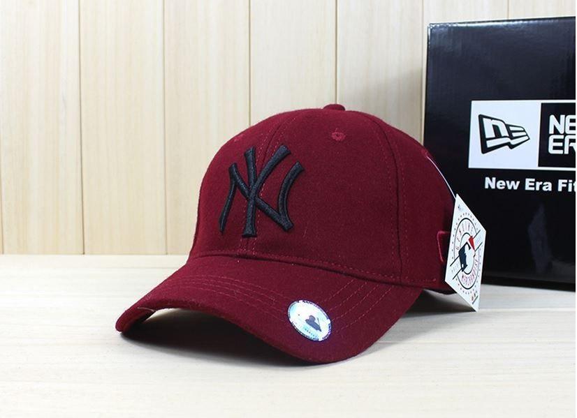 Теплые кепки NY шерсть. Бейсболка осень зима. Качественные бейсболки ... 322218fcabd82
