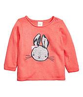 Вязаный свитер для девочки. 12-18 месяцев 1,5-2 года