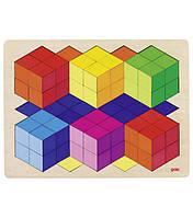 """3D пазлы """"Все цвета радуги"""" GOKI"""