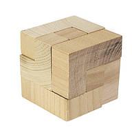 """Деревянная головоломка """"Куб"""" GOKI"""