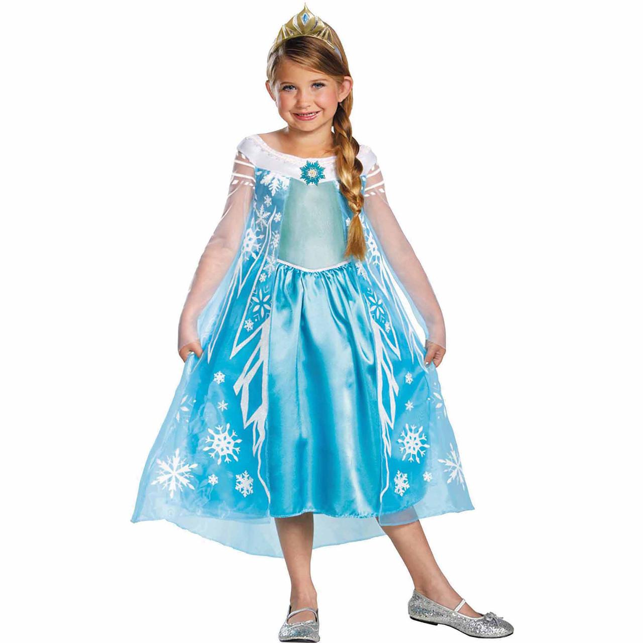 Карнавальный костюм принцесса Эльза  Холодное сердце  Frozen  Elsa 3-4 года