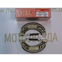 Колодки тормозные задние HONDA DIO/TACT-50 MSU