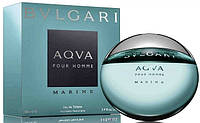 Мужская туалетная вода Bvlgari Aqva Marine pour homme (мужские духи булгари аква, лучшая цена) AAT