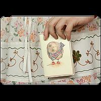 """Обложка для паспорта """"Любопытство"""" + блокнотик"""