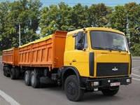 Транспортные услуги зерновозами, (Камазы Мазы, Евро)