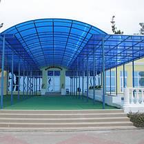 Polygal  — сотовый поликарбонат для навесов и арок, фото 2