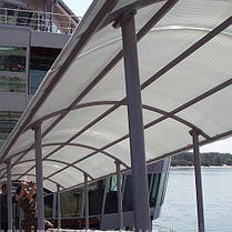 Polygal  — сотовый поликарбонат для навесов и арок, фото 3