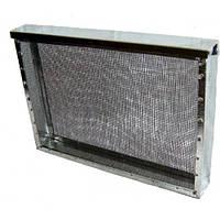 Изолятор сетчатый стальной окрашенный порошковой краской на улей типа «Дадан» на 1 рамку