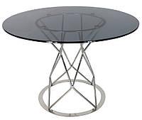Дизайнерский стол CON- CRYSTAL 110 см (серый)