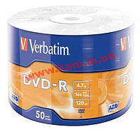 IT/ st VERBATIM DVD-R 4,7Gb 16x Wrap 50 pcs 43788 (43788)