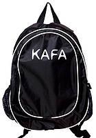 Компактный городской рюкзак Р123 -2 black