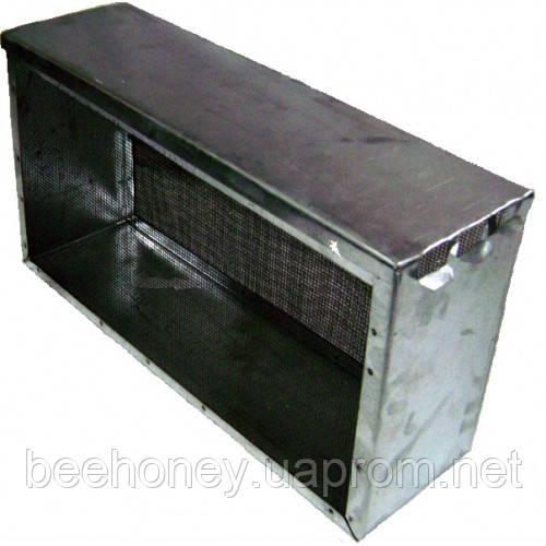 Изолятор сетчатый оцинкованный на улей типа «Рута» на 3 рамки