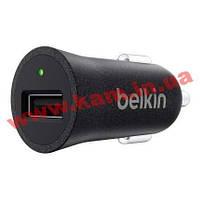 Автомобильное зарядное устройство Belkin Mixit Premium 1*USB 5V/ 2.4A (F8M730btBLK)