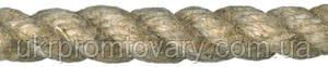 Канат льняной диаметр 6 мм трехпрядный ГОСТ, фото 2