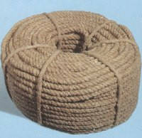 Канат льняной диаметр 50 мм трехпрядный ГОСТ, фото 2