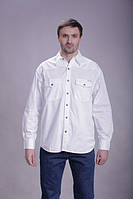 Мужская рубашка MONTANA белого цвета