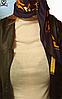 Платок шерсть-шелк женский, фото 2