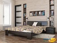 Кровать Титан ESТ-180х200 (без матраса!) (Бук (массив))