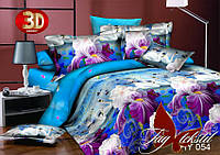 Семейный комплект постельного белья 3D XHY054