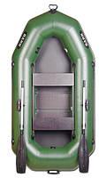Лодка надувная гребная двухместная Bark B-270P (БАРК B-270P)