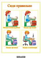 Оформление начальной школы и начальных классов.