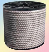 Канат хлопчатобумажный диаметр 6 мм трехпрядный ТС, фото 3