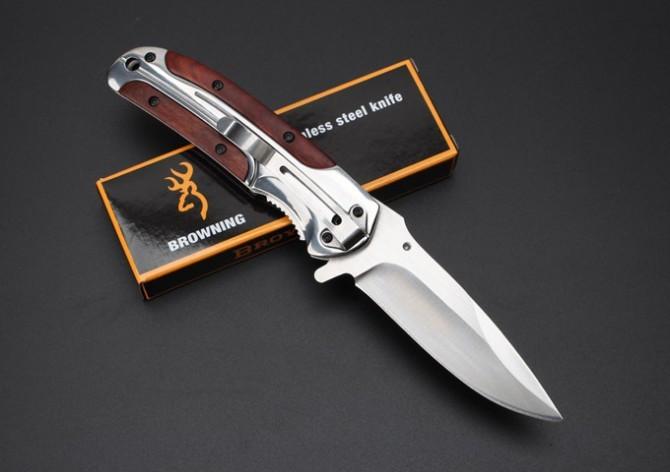 Нож раскладной Browning полуавтоматический раскладной.