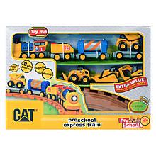 Железная дорога «Toy State» (80408) железная дорога CAT