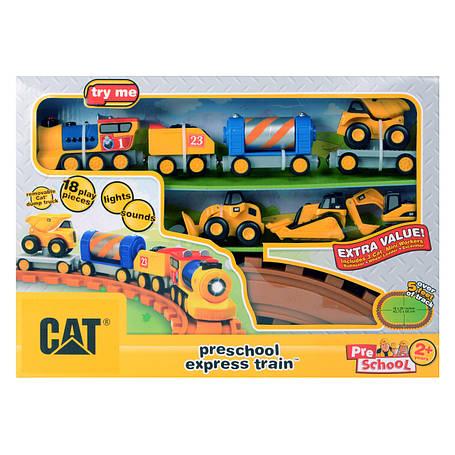 Железная дорога «Toy State» (80408) железная дорога CAT, фото 2