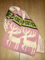 Большой зимний шарф